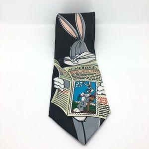 Vintage Looney Tunes Bugs Bunny Tie